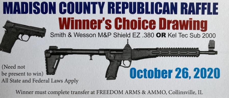Madison County Republican Raffle